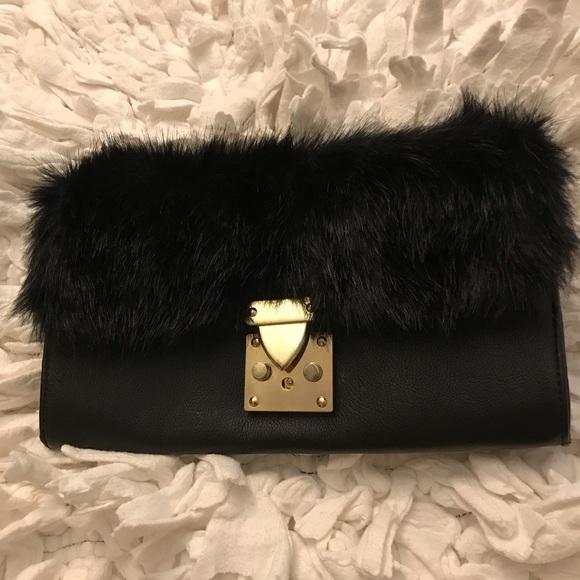 Aldo Handbags - Nice Aldo Fur Clutch